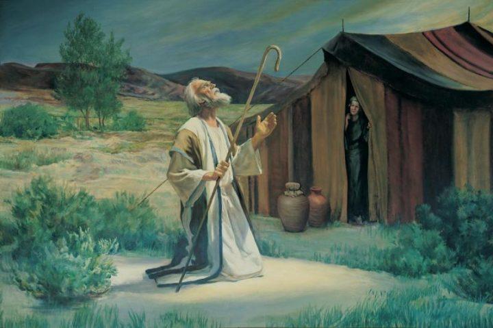 abraham-on-the-plains-of-mamre-grant-romney-clawson-c-iri