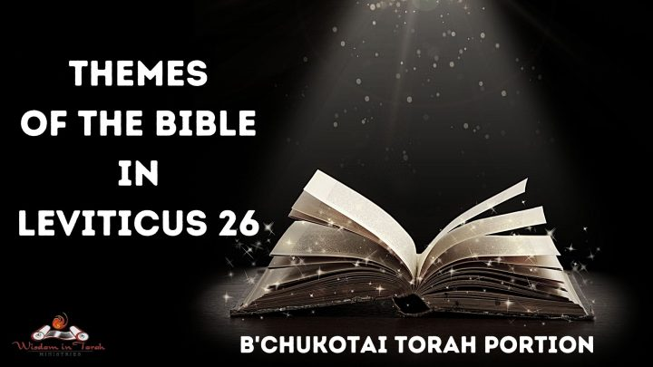 Themes of the Bible in Leviticus 26 within B'chukotai Torah Portion