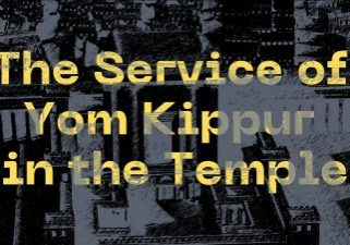 The service of yom kippur in the temple